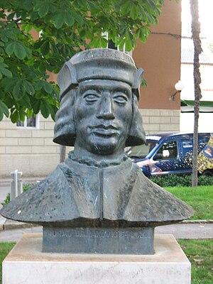 Juraj Baraković - A statue of Juraj Baraković in Zadar