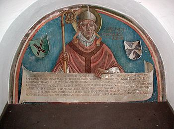 Depiction of Archbishop Brun in St. Andreas in Cologne