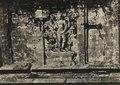 KITLV 106693 - Isidore van Kinsbergen - Bas-relief of a four-armed Vishnu on the north wall of Tjandi Srikandi on Dijeng plateau in Wonosobo - 1864-07-1864-09.tif