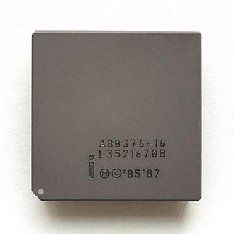 Intel 80376 - The Intel i376.