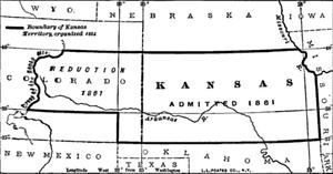 Kansas Territory - Kansas Territory Changes
