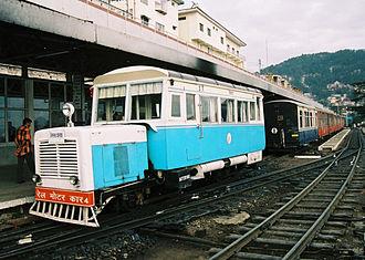 Kalka–Shimla railway - KSR railcar