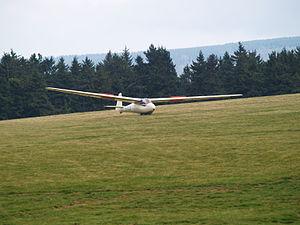 Schleicher Ka 2 Rhönschwalbe - A Ka–2 on landing