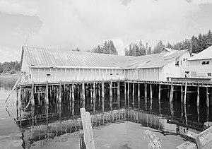 National Register of Historic Places listings in Petersburg Borough, Alaska - Image: Kake Salmon Cannery, 540 Keku Road, Kake (Wrangell Petersburg Census Area, Alaska)