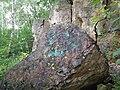 Kamień ze znakiem carskiej szkoły technicznej .jpg