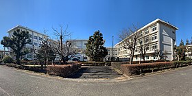 Kanagawa Prefectural Kibogaoka High School, school buildings, 2021.jpg