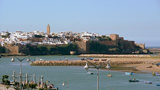 Rabat City in Rabat-Salé-Kénitra, Morocco