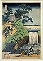 Katsushika hokusai, cascata (serie cascate), 1790-1810 ca.jpg