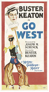 <i>Go West</i> (1925 film) 1925 film by Buster Keaton
