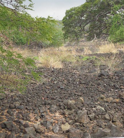 a section of the remains of Keauhou Holua – Hawaiian Holua (Lava Sledding)
