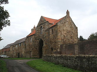 John Cockburn of Ormiston - Gatehouse of the Kepier Hospital in Durham given to John Cockburn by Edward VI of England