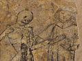 Kernascléden (56) Chapelle Notre-Dame Danse Macabre 09.JPG