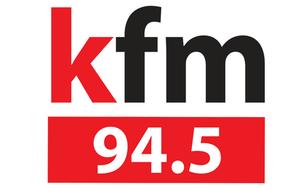 94.5 Kfm - Logo for KFM radio station