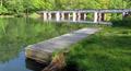 Kiekebuscher Wehr, Cottbus (upstream canoe pier).png