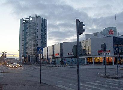 How to get to Tikkurila with public transit - About the place