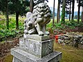 Kikube-Jinjya(Yosano)狛犬 吽.jpg