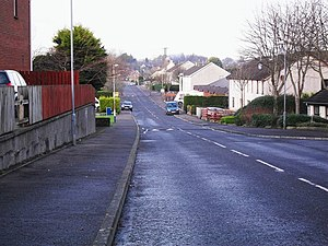 Carryduff - Image: Killynure Road, Carryduff geograph.org.uk 1618119