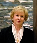 Progressive Conservative leader, Kim Campbell