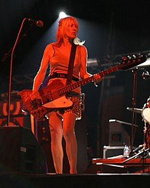 Kim Gordon at Primavera Sound Festival in 2007. (Photo by Michael Morel)
