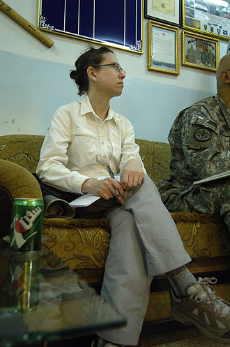 Institute for the Study of War - Kimberly Kagan in Iraq, 2008