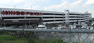 Kings Plaza - Mall parking garage and marina