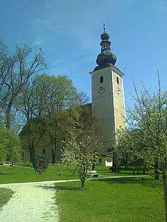 Irdning Place in Styria, Austria