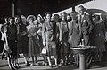 Kirsova Ballet company changes trains, 1944.jpg