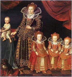 Danish noble, spouse of King Christian IV of Denmark