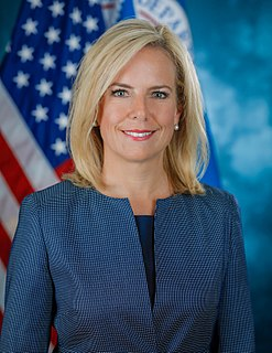 Kirstjen Nielsen 6th United States Secretary of Homeland Security