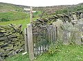 Kissing gate at Sun Royd, Royd Edge, Meltham - geograph.org.uk - 855210.jpg