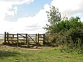 Kissing gate on the Wherryman's Way - geograph.org.uk - 1493126.jpg