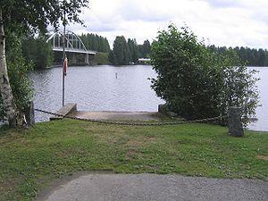 Rautalampi - Kivisalmi strait in Konnevesi/Rautavesi border