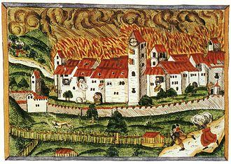 Klingnau - Great fire of 1886