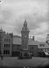 town clock, Knighton
