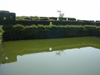 Kolaba Fort - Image: Kolaba fort north side