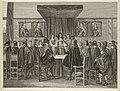 Koning Karel II van Engeland spreekt een kleine groep staande leden van de Staten-Generaal toe, 1 juni 1660. NL-HlmNHA 1477 53009797.JPG