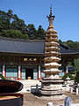 Korea-Gangwon-Woljeongsa Nine Story Pagoda 1724-07.JPG