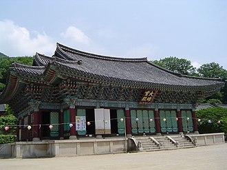 Songgwangsa - Image: Korea Songgwangsa 01