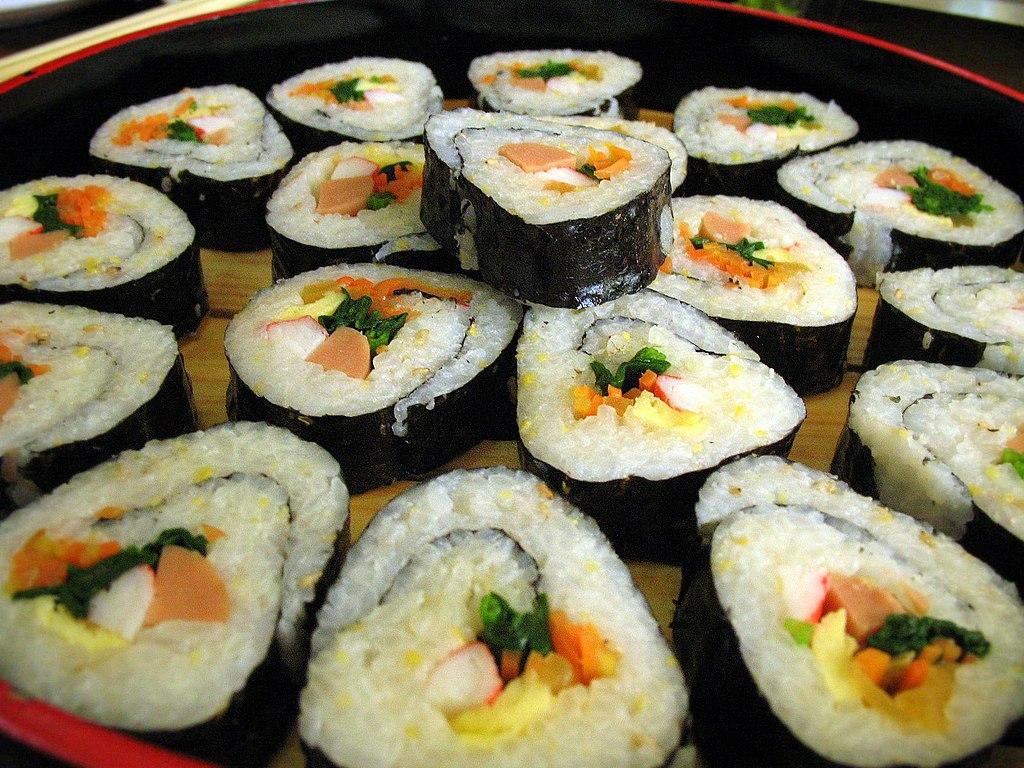Korean Food Kimbap Recipe