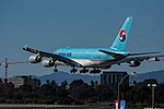 Korean Air Airbus A380 (HL7612) at LAX (22313061764).jpg