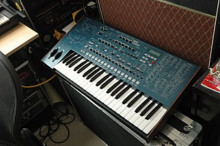 Korg MS2000 synthesizer released in 2000