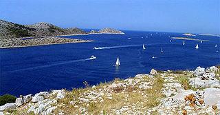 Kornati archipelago in central Dalmatia, Croatia