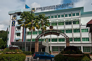Kota Kinabalu District - Kota Kinabalu City Hall.