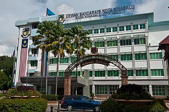 Kota Kinabalu District - Kota Kinabalu City Hall.