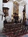 Krakov, Stare Miasto, interiér kostela svatého Petra a Pavla.JPG