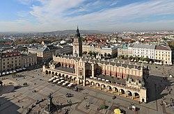 Krakow - Cloth Hall from Basilica - 1.jpg