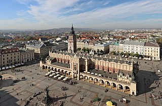 Krakow - Cloth Hall from Basilica - 1.jpg