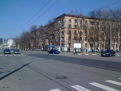 How to get to Кадетский Плац with public transit - About the place