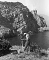 Krim félsziget 1962, Haspra, tengerpart - Fortepan 61232.jpg
