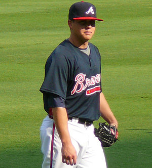 Kris Medlen - Medlen during his tenure with the Atlanta Braves in 2009